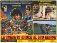 La Muerte cruzo el rio Bravo - 11 x 14 Poster Spanish Style D