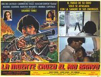 La Muerte cruzo el rio Bravo - 11 x 14 Poster Spanish Style E