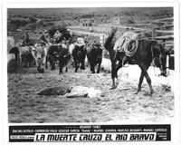 La Muerte cruzo el rio Bravo - 8 x 10 B&W Photo #5