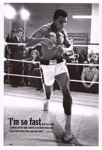 Muhammad Ali - Sports Poster - 24 x 36 - Style B