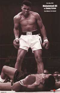 Muhammad Ali - People Poster - 11 x 17 - Style A