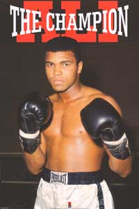 Muhammad Ali - Sports Poster - 24 x 36 - Style D