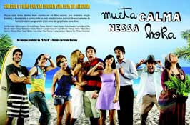 Muita Calma Nessa Hora - 11 x 17 Movie Poster - Style A