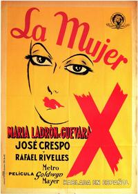 Mujer X, La - 11 x 17 Movie Poster - Spanish Style A