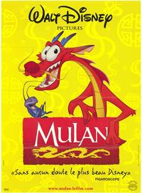 Mulan - 27 x 40 Movie Poster - French Style A