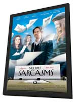 Multiple Sarcasms - 11 x 17 Movie Poster - Style A - in Deluxe Wood Frame