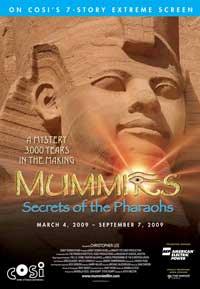 Mummies: Secrets of the Pharaohs - 27 x 40 Movie Poster - Style A