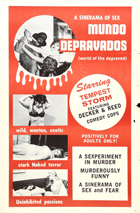 Mundo Depravados: World of the Depraved - 27 x 40 Movie Poster - Style A