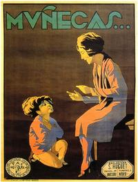 Munecas - 11 x 17 Movie Poster - Spanish Style A