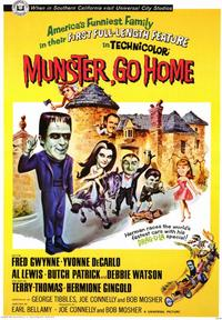 Munster, Go Home! - 43 x 62 Movie Poster - Bus Shelter Style A