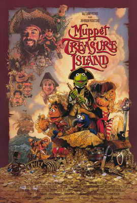 Muppet Treasure Island - 27 x 40 Movie Poster - Style A
