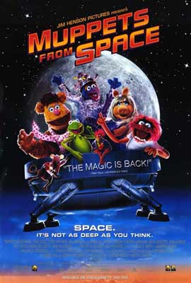 Muppets from Space - 11 x 17 Movie Poster - Style B