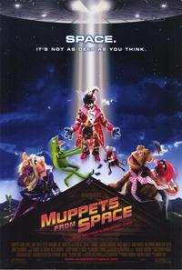 Muppets from Space - 43 x 62 Movie Poster - Bus Shelter Style A
