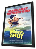 Murder Ahoy - 11 x 17 Movie Poster - Style A - in Deluxe Wood Frame