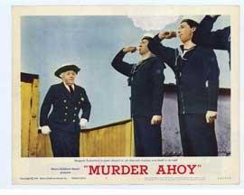 Murder Ahoy - 11 x 14 Movie Poster - Style B