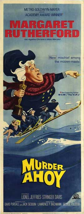 Murder Ahoy - 14 x 36 Movie Poster - Insert Style A