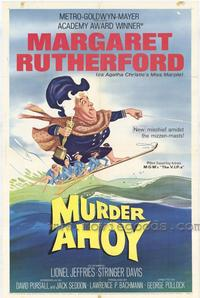 Murder Ahoy - 43 x 62 Movie Poster - Bus Shelter Style A