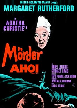 Murder Ahoy - 11 x 17 Movie Poster - German Style A
