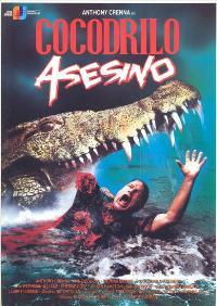 Murder Alligator - 11 x 17 Movie Poster - Spanish Style A