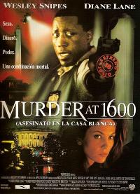 Murder at 1600 - 11 x 17 Movie Poster - Spanish Style A