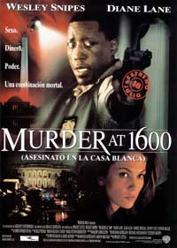 Murder at 1600 - 11 x 17 Movie Poster - Spanish Style B