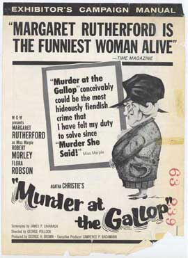 Murder at the Gallop - 11 x 17 Movie Poster - Style B