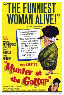 Murder at the Gallop - 27 x 40 Movie Poster - Style A