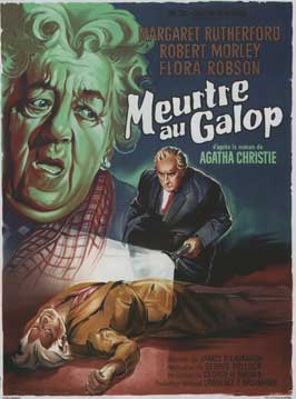 Murder at the Gallop - 11 x 17 Movie Poster - French Style A