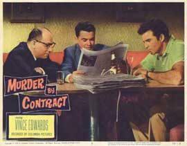 Murder by Contract - 11 x 14 Movie Poster - Style F