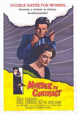 Murder by Contract - 27 x 40 Movie Poster - Spanish Style A
