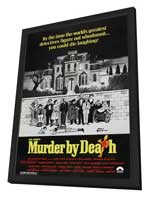 Murder by Death - 27 x 40 Movie Poster - Style C - in Deluxe Wood Frame