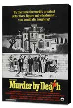 Murder by Death - 27 x 40 Movie Poster - Style C - Museum Wrapped Canvas