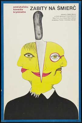 Murder by Death - 27 x 40 Movie Poster - Polish Style A