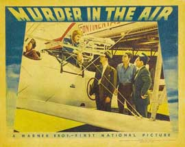 Murder in the Air - 11 x 14 Movie Poster - Style H