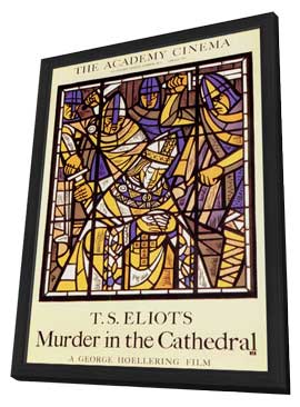 Murder in the Cathedral - 11 x 17 Poster - Foreign - Style A - in Deluxe Wood Frame