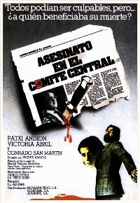 Murder in the Central Committee - 11 x 17 Movie Poster - Spanish Style A