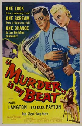 Murder Is My Beat - 11 x 17 Movie Poster - Style A