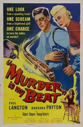Murder Is My Beat - 27 x 40 Movie Poster - Style A