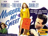 Murder, My Sweet - 22 x 28 Movie Poster - Half Sheet Style A