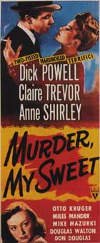 Murder, My Sweet - 14 x 36 Movie Poster - Insert Style C
