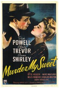 Murder, My Sweet - 27 x 40 Movie Poster - Style A