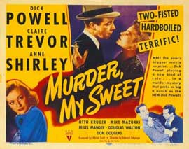 Murder, My Sweet - 11 x 14 Movie Poster - Style A