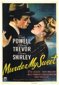 Murder, My Sweet - 43 x 62 Movie Poster - Bus Shelter Style A