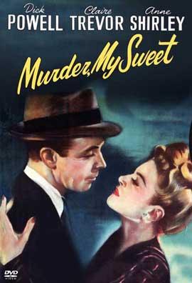 Murder, My Sweet - 11 x 17 Movie Poster - Style B