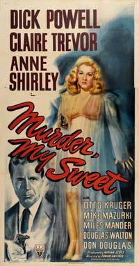 Murder, My Sweet - 41 x 81 3 Sheet Movie Poster - Style A
