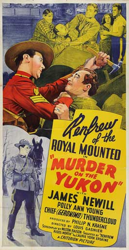 Murder on the Yukon - 11 x 17 Movie Poster - Style A