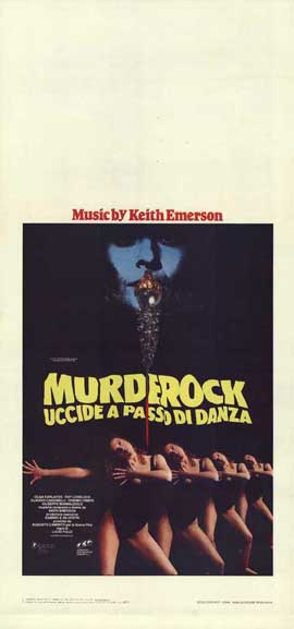 Murder-Rock: Dancing Death - 13 x 28 Movie Poster - Italian Style A