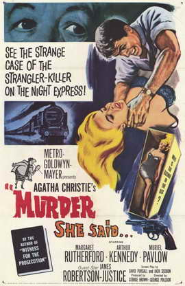 Murder She Said - 11 x 17 Movie Poster - Style A