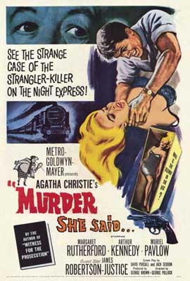 Murder She Said - 27 x 40 Movie Poster - Style A