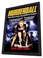Murderball - 11 x 17 Movie Poster - Style C - in Deluxe Wood Frame